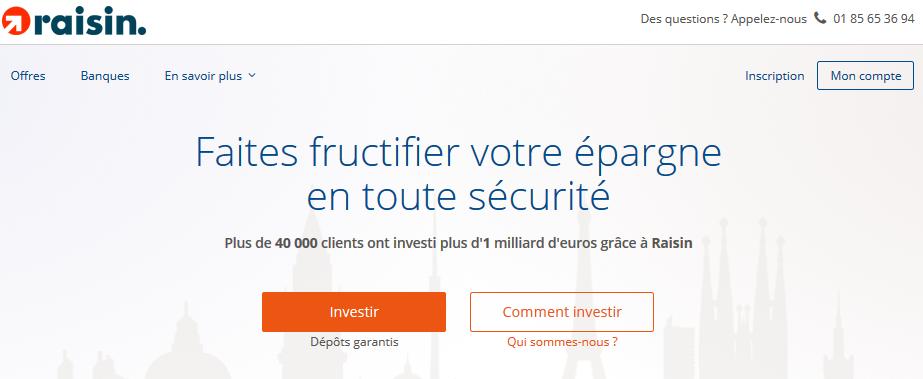 Raisin ouvre les frontières aux épargnants français