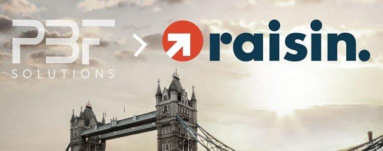 Raisin acquiert PBF Solutions : nous voulons rendre l'épargne au Royaume-Uni plus attrayante
